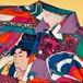 【再入荷】POPJAPANのサテンシャツ☆メンズフリーサイズ