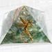 <送料無料><アウトレット>黄金比ピラミッド形オルゴナイト〜木陰のフェアリー〜
