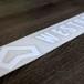 Westbeach新ステッカー 大サイズ A(ダイカット) White