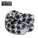 Working Class Heroes Fleece Snood -Houndstooth