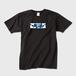 【Lサイズ】D_Drive Yuki Blue RosesロゴTシャツ
