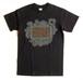 Cycle Trash 21th anniversary T-shirt - Black- Fart-full color- by Burrito Breath