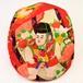 着物地ハンチング:稚児と花柄 1801h04