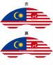 BANZAI JAPANマレーシア遠征記念 扇子