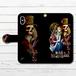 #044-026 iPhoneケース スマホケース 手帳型 全機種対応 人気 女子 iPhoneXS/X Xperia iPhone5/6/6s/7/8 ケース おしゃれ 不思議の国のアリス Galaxy ARROWS AQUOS HUAWEI Zenfone タイトル:Alice in Nightmare 作:kis