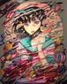 巽千沙都「ぜんぶ壊れちゃえ」F30 キャンバスにアクリルガッシュ