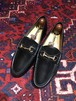 .GUCCI LEATHER HORSE BIT LOAFER MADE IN ITALY/グッチレザーホースビットローファー 2000000030661