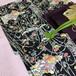 菖蒲と牡丹、木賊(とくさ)模様の小紋