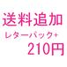 送料追加レターパック+