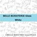 656(税別)ガラスBELLEモダンカリグラフィーホワイトA4