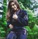 WAR TRIBE GEAR Women's HydrogenGi ブラック 黒|女性用ブラジリアン柔術衣(柔術着)