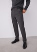 ELASTIC COTTON CHINO STYLE TROUSERS
