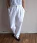 1990's [Ralph Lauren] 2タック コットンパンツ ホワイト 表記(W30) ラルフローレン