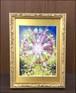 神聖幾何学アート「ゴールデン・スマイル」フレームスタンド式