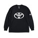 "TOYOTA ""EMBLEM"" Long Sleeve - Black"