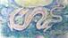 日本画作品「音の海」M4号