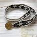 Beads wrap bracelet  -Union Jack-