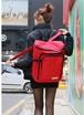 【即納】☆カジュアル 大容量 リュック縦型 赤 レッド R018