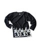 Tシャツ2号 「組菱(くみびし)」 黒
