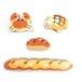 【絵本のつみき】4P パンセット(からすのパンやさん)