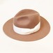 CENTER CREASE FELT HAT (BEIGE) / GAVIAL