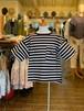 KIDS:GROOVY COLORS 【グルービーカラーズ】天竺ボーダーPOCKETワイドTEE(90〜120cm)Tシャツ