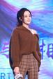 芸能人愛用 冬 衣装 女子向け 厚い ブラウン メリヤス プライマーシャツ ファスナー オシャレ 上着 オシャレ