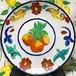 飾り用 マヨリカ焼き風 ポンカンの皿