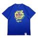 マッドロック -Be Stupid-Tシャツ/ドライタイプ/ブルー/MADROCK-Be Stupid-TEE