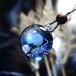 ガラスの惑星宇宙ペンダント/【訳あり、試作品】20210119-3