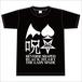 【再入荷】真っ黒逆さまハートTシャツ (BLACK)