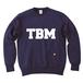 TSUBOMIN / TBM LOGO CREWNECK SWEAT NAVY