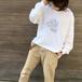 apartment ロングTシャツ [WH]