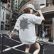 【トップス】カートゥーンプリント半袖ラウンドネックTシャツ22143334