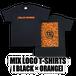 MIX LOGO T-SHIRTS[黒]