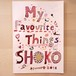「My Favourite Things」ミニアートブック+ポストカードセット