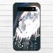 #068-005 モバイルバッテリー 月 かわいい おしゃれ 綺麗 iphone スマホ 充電器 タイトル:夜を創る 作:アスマル