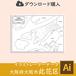 【ダウンロード】大阪市此花区(AIファイル)