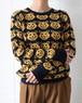 80's bear knit