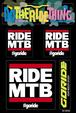 Ride MTB Sticker Kit