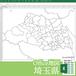 埼玉県のOffice地図【自動色塗り機能付き】