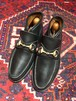 .GUCCI LEATHER HORSE BIT SHORT BOOTS MADE IN ITALY/グッチレザーホースビットショートブーツ 2000000034997
