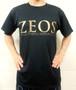 第1弾  ZEOS卓球スタジオ限定Tシャツ 黒×金