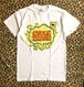 Cycle Trash 21th anniversary T-shirt - white- Fart-full color- by Burrito Breath