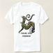 コバルトツリーモニター T-shirt 『雨』油彩画作品使用