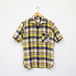 S/S ONE-PIECE COLLAR SHIRT (LINEN/COTTON)