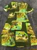ビンテージ 縮緬コットン ハワイアン ワンピース ドレス 60s 70s OLD HAWAII