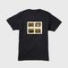 メンズTシャツ(Spend a happy hour playing) 背面印刷