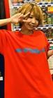 ロゴTシャツ(赤)