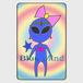 Blue Mind (スライドカードミラー)